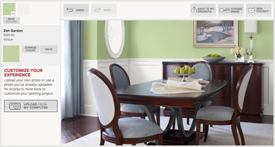 Valspar Virtual Painter
